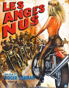 The Wild Angels directed by Roger Corman, starring Peter Fonda and Nancy Sinatra, biker movie poster Biker Movies, Cult Movies, Book Posters, Movie Poster Art, Roger Corman, Motorcycle Posters, Retro Motorcycle, Motorcycle Types, Easy Rider