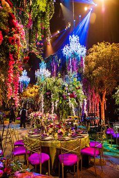 An Enchanting Disneyland Wedding Transformation Wedding Themes, Wedding Designs, Wedding Decorations, Themed Weddings, Wedding Ideas, Fantasy Wedding, Dream Wedding, 1920s Wedding, Villa Vanilla