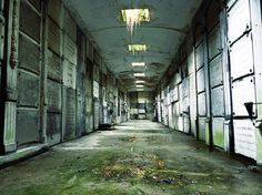 Abandoned crypte Belgium