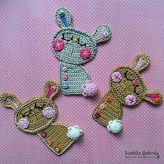 Bunny The Dreamer Applique Crochet Pattern