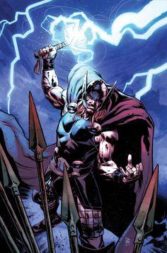 Ilustración de Nick Klein para la portada alternativa de Thor: God Of Thunder 20, publicado en Thor: Dios del Trueno 38.  http://www.paninicomics.es/web/guest/titulo_detail?viewItem=729667