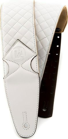 Pro-Performance Quilted Leather Straps (Guitar and Bass) Glacier White | eBay Bass Guitar Accessories, Quilted Leather, Wallet, Ebay, Purses, Diy Wallet, Purse