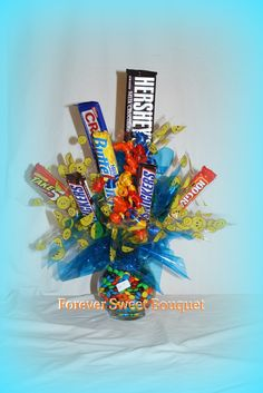 images candy bouquets   | 22.00 Candy Bouquet - Forever Sweet Bouquet