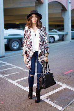 oversized plaid jack