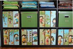 New wrapping paper storage ikea magazine holders Ideas Kids Storage, Craft Storage, Toy Storage, Storage Ideas, Creative Storage, Storage Boxes, Kitchen Storage, Storage Solutions, Container Organization