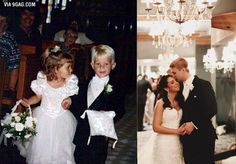 Flower Girl and Ring Bearer from Wedding Get Married 20 Years Later