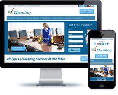 Maid Service Website Template - http://videogalleria.net/downloads/maid-service-website-template/
