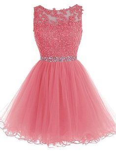 Shop a great selection of Lace Appliques Short Prom Dresses Tulle Beaded Homecoming Party Dress. Find new offer and Similar products for Lace Appliques Short Prom Dresses Tulle Beaded Homecoming Party Dress. Dama Dresses, Hoco Dresses, Pretty Dresses, Bridesmaid Dresses, Beaded Prom Dress, Tulle Dress, Tulle Lace, Dress Prom, Lace Dress