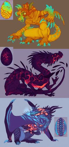 """lilaira:  """" Hatchlings by LiLaiRa  """""""