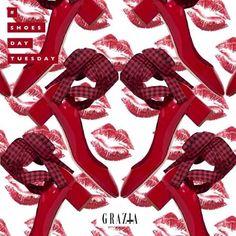 El color del amor se lleva en los pies Nuestro romántico #ShoesdayTuesday va para estos pumps de @miumiu  via GRAZIA MEXICO MAGAZINE OFFICIAL INSTAGRAM - Fashion Campaigns  Haute Couture  Advertising  Editorial Photography  Magazine Cover Designs  Supermodels  Runway Models