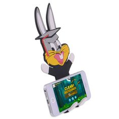 Cartoon Bugs Bunny Phone Stand #cartoon #bugsbunny #phone #stand