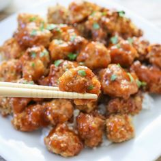 Baked Orange Chicken | Kirbie's Cravings | A San Diego food blog