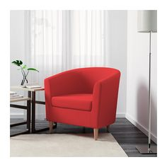 TULLSTA Fotel - Ransta czerwony - IKEA