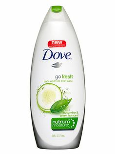 "Body: Best body wash Dove Go Fresh Cool Moisture Body Wash with Nutrium Moisture, $4.49; walmart.com Thanks to powerhouse skin conditioners, this body wash cut a step out of Ahnert's routine. ""It left my skin so soft that I skipped lotion, and I liked the cucumber smell."""