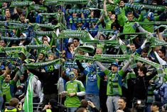 Scarfs Up! - Our Seattle Sounders Fans are the most rabid MLS fans out there
