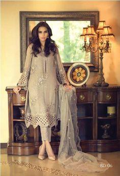 Maria B Unstitched Dresses for Eid Ul Adha 2015
