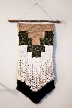 guinnevere / wall hanging weaving tapestry with by habitstudio