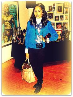 @nothing_broken style blogger Punam! http://sfindiefashion.com/2012/01/04/spotted-sf-street-style-eclectic-blue/
