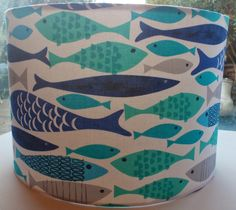Botany Bay Designs #Create365: Day Twelve #365 - Blue Fish Lampshade