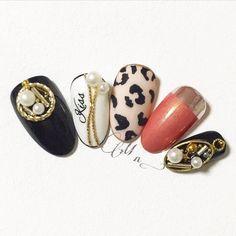 Pin on ネイル Cute Nail Art Designs, Gel Designs, Autumn Nails, Winter Nails, New Year's Nails, Hair And Nails, Korea Nail, Japan Nail, New Years Nail Art