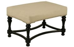 Bourbon Stool, Hand Rubbed Black from NOIR