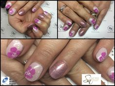 Altra idea per unghiette corte...Nail Art by Stella Nails di alice Conventi