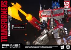 Transformers Optimus Prime Transformers Generation 1 Statue | Sideshow Collectibles
