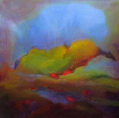 Green world, blue water Painting Art Prints Online, Contemporary Abstract Art, Sculpture Art, Paint Colors, Saatchi Art, Original Paintings, Water, Canvas, World
