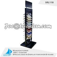 high-end double side metal display rack