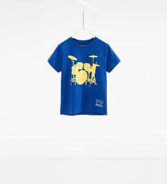 Afbeelding 1 van T-shirt met batterij van Zara