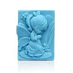 Lovely Girl Soap Mold Mould Silicone Flexible Mold Silica Mold