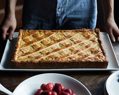 Find the recipe for Italian Rice Pie (Pastiera di Riso) and other ricotta recipes at Epicurious.com