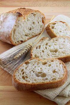 Il pane con lievito madre del grande maestro Piergiorgio Giorilli, fatto direttamente dalle sue mani ad un corso al quale abbiamo avuto l'onore di esserci