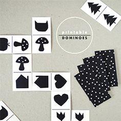 Printable Dominos (via Handmade Charlotte)