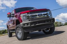 "BDS expands its lineup of suspension lift kit offerings for the redesigned 2017 Ford F250 and F350 Super Duty 4wd trucks with new 4"" radius arm lift kits."