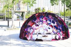 Interactive Kaleidome activates a public park in Hong Kong | Inhabitat - Sustainable Design Innovation, Eco Architecture, Green Building