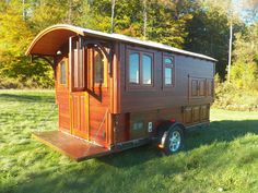 a truly small house http://www.theshelterblog.com/more-photos-of-greg-ryans-gypsy-wagon/