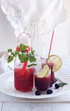 A Berry Minty Spritzer