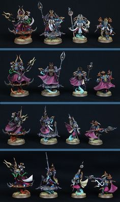 THOUSAND SONS EXALTED SORCERERS AND AHRIMAN