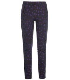 Leopard-print ski pants by Christopher Kane. Multicoloured leopard print high waisted elasticated waistband hidden ankle zip two front zipped pocket leggings. Material: 97% polyamide, 3% elastane. Lining: 96% silk and 4% elastane, dry clean. #Matchesfashion