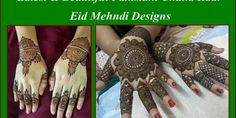 Latest & Beautiful Pakistani Chand Raat Eid Mehndi Designs