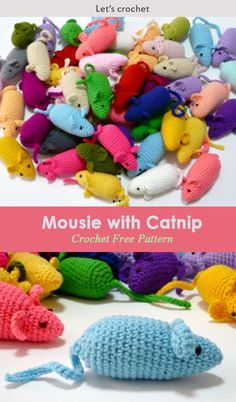 Little Mouse FREE Crochet Pattern #freecrochetpatterns #toys