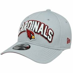 New Era Arizona Cardinals Draft Day Replica 39THIRTY Flex Hat - Gray #AZCardinals