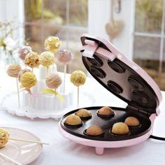Pop cake maker http://www.lakeland.co.uk/15917/Sweet-Treats-Cake-Pop-Maker