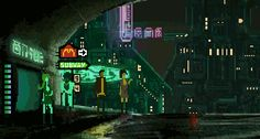 retronator: The Last Night by Tim & Adrien Soret A short, moody, cyberpunk adventure game in the spirit of Flashback & Blade Runner. It was originally a small flash game made in 6 days, which won the cyberpunkjam. You can play the original version here: http://timsoret.itch.io/the-last-night Now the brothers have picked up the project and are making it into a full fledged game: Expect a 2D open world, made up of 4 unique districts each with distinct architecture, cultures and ...