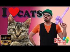 Balloon Cat - Palloncino Gatto - Tutorial 154 - Feste Compleanni - YouTube Balloon Cat video tutorial, how to twist a simple cat with one balloon. Balloon Art tutorial. Sculture con palloncini, ecco come realizzare un semplice gatto con i palloncini.