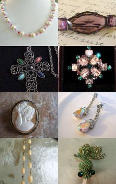 Holiday Gems by Sandy Kennedy on Etsy--Pinned with TreasuryPin.com
