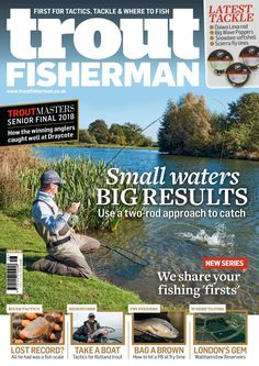 Issue 516 on sale November 2018 Sea Angling, Fishing Magazines, Types Of Fish, Carp Fishing, Big Waves, New Series, Trout, Latest Issue, Baseball Cards