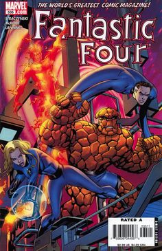 Fantastic Four (1961) - #535