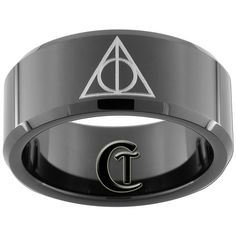 Harry Potter Ring - Deathly Hallows design. WANT TOO!